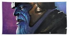 Thanos Hand Towel by Tom Carlton