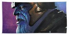 Thanos Bath Towel by Tom Carlton
