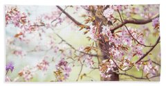 Hand Towel featuring the photograph That Tender Joyful Spring by Jenny Rainbow