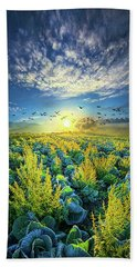 That Voices Never Shared Hand Towel by Phil Koch