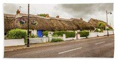 Thatched Cottages Bath Towel