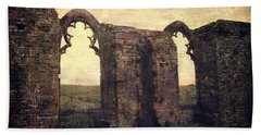 The Abbey Ruins Bath Towel