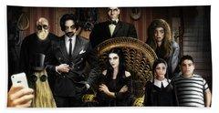 The Addams Family Hand Towel by Alessandro Della Pietra