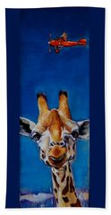 The Air Up There Bath Towel by Jean Cormier