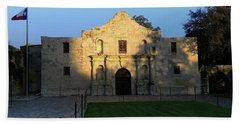 The Alamo At Dusk Hand Towel by Joseph Hendrix