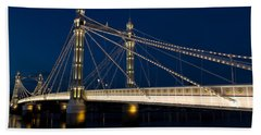 The Albert Bridge London Hand Towel