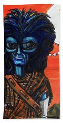 The Alien Braveheart Hand Towel