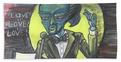 The Alien Lin-manuel Miranda Hand Towel
