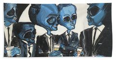 The Alien Rat Pack Hand Towel