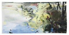The Alster In High Summer Hand Towel