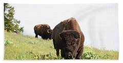 The American Bison Hand Towel