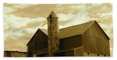 The Amish Silo Barn Hand Towel