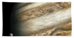 The Ancient Dance Of Europa And Jupiter Bath Towel