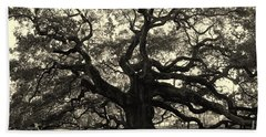 The Angel Oak Hand Towel