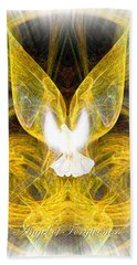 The Angel Of Forgiveness Bath Towel