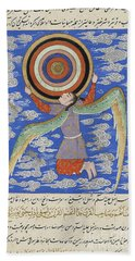 The Angel Ruh Holding The Celestial Spheres Hand Towel