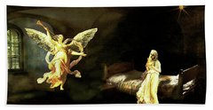 The Annunciation Bath Towel