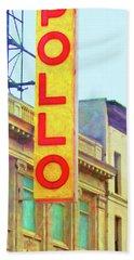 The Apollo Theater In Harlem Neighborhood Of Manhattan New York City 20180501 Bath Towel