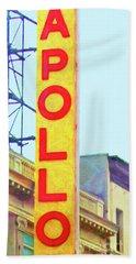 The Apollo Theater In Harlem Neighborhood Of Manhattan New York City 20180501v2 Bath Towel
