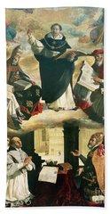 The Apotheosis Of Saint Thomas Aquinas Bath Towel