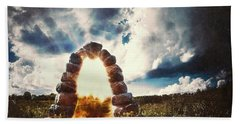 The Arch On The Edge Of Forever Hand Towel
