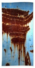 The Art Of Rust Hand Towel by Jerry Sodorff