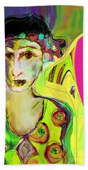 The Artist In Fauve Working Artist Hand Towel