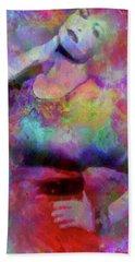 The Artist Hand Towel by Tlynn Brentnall