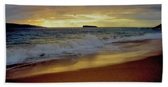 The Aura Of Molokini Bath Towel by Victor K