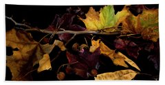 The Autumn Branch Hand Towel