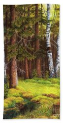 The Autumn Is Coming Bath Towel