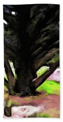 The Avenue Of Trees 1 Hand Towel