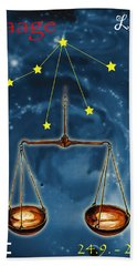 The Balance Of The Universe Bath Towel