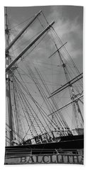 The Balclutha Caravel Hand Towel by Ivete Basso Photography