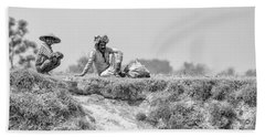 The Banks Of The Lower Ganges Bath Towel