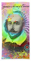 The Bard Hand Towel by Gary Grayson