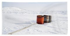 The Barrels Bath Towel by Nick Mares