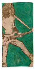 The Bassist  Bath Towel