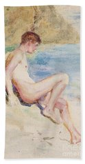 The Bather, 1910 Hand Towel