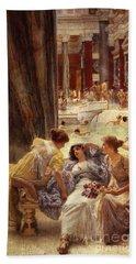 The Baths Of Caracalla Bath Towel