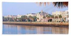 The Battery, Waterfront, Charleston Bath Towel