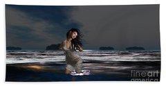 The Beach 5 Hand Towel