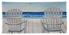 The Beach Chairs Hand Towel
