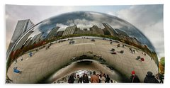 The Bean - Chicago Bath Towel