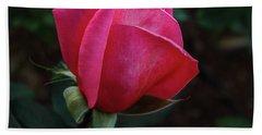 The Beautiful Rose Bud Bath Towel
