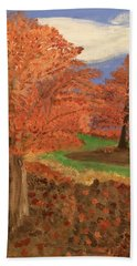 The Beauty Of Autumn  Hand Towel