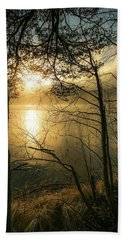 The Beauty Of Nature Bath Towel by Rose-Marie Karlsen