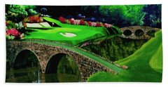 The Beauty Of The Masters Cropped Version Bath Towel