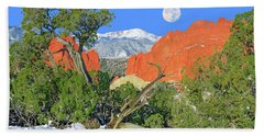 The Beauty That Takes Your Breath Away And Leaves You Speechless. That's Colorado.  Bath Towel by Bijan Pirnia