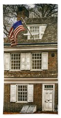 The Betsy Ross House Hand Towel